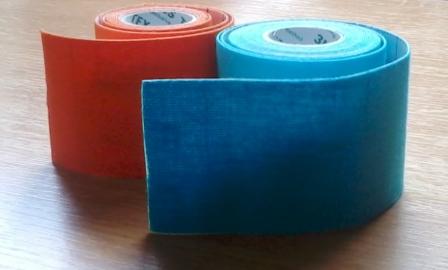 Az elasztikus ragasztószalag (tape)
